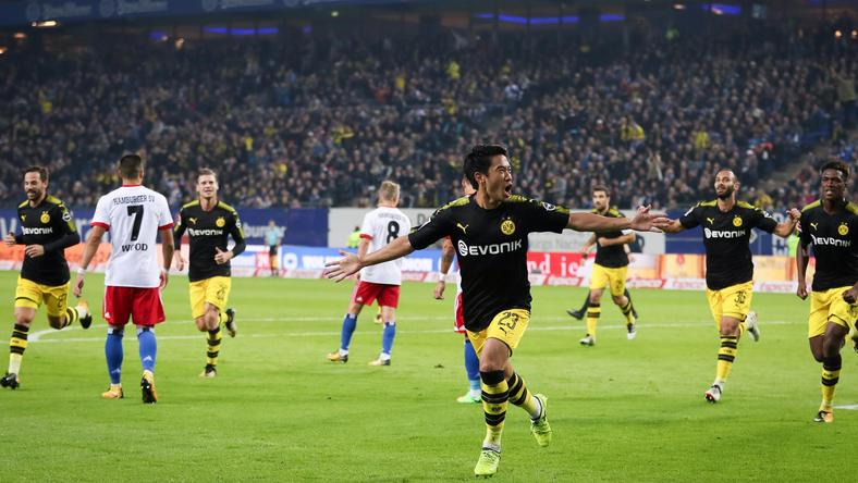 Hamburger SV vs Borussia Dortmund