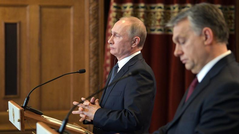 Viktor Orban i Władimir Putin