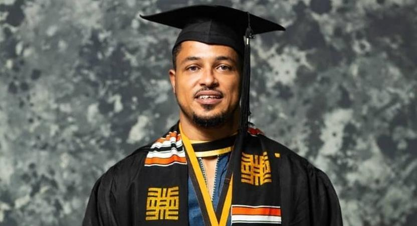 Van Vicker gets a degree 21 years after completing SHS