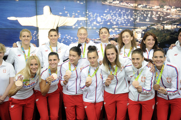 Ženska košarkaška reprezentacija Srbije u poseti