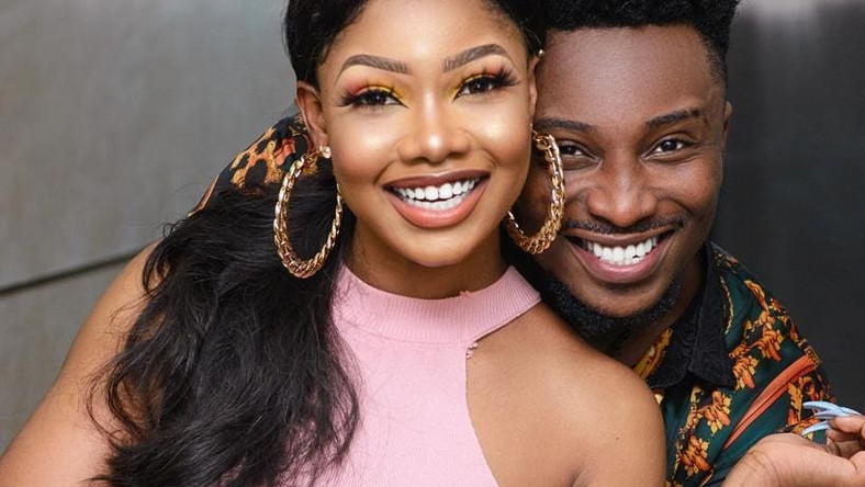 Two of your favourite housemates from the recently concluded season of Big Brother Naija 'Pepper Dem,' Tacha and SirDee are giving us couple goals in their latest photos. [Instagram/SirDee]