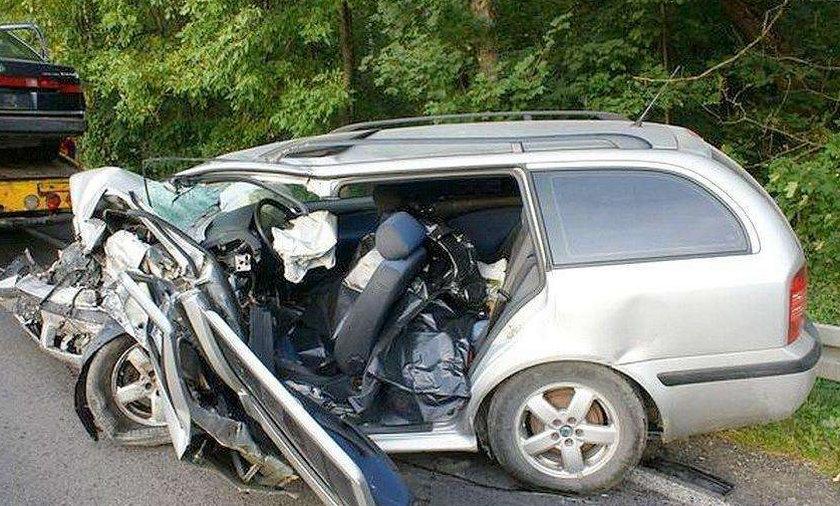 Tragiczny wypadek na krajowej 19