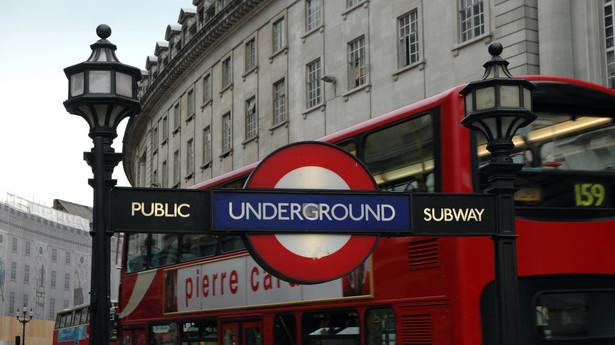Symbol londyńskiego metra