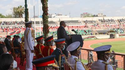 Economy, BBI - hallmarks of  Uhuru's Jamhuri Day speech