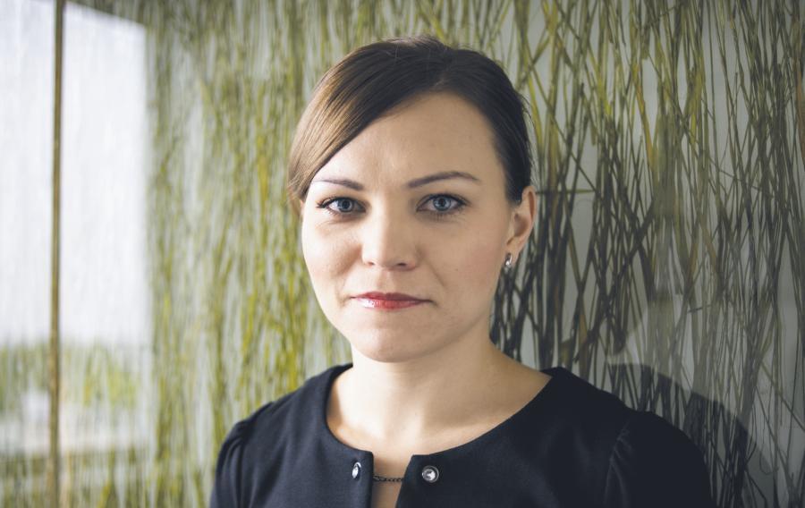Agnieszka Trzaska / fot. Bartosz Siedlik