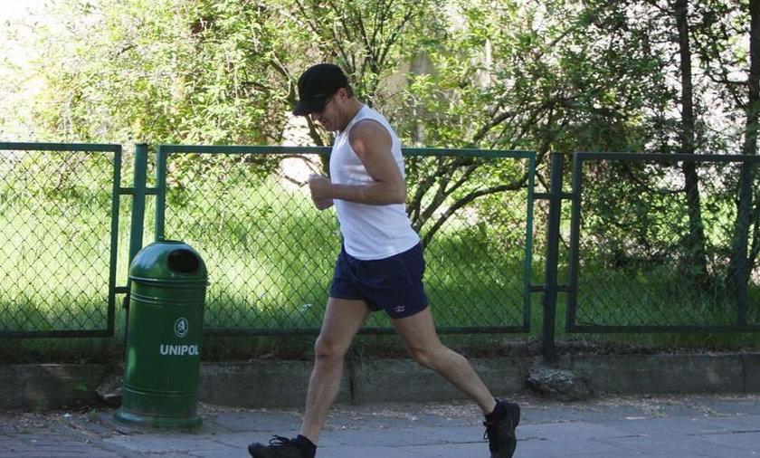 Donald Tusk biega