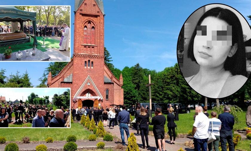 Poruszająca ostatnia droga zamordowanej 18-letniej Magdy. Żegnają ją bliscy i przyjaciele