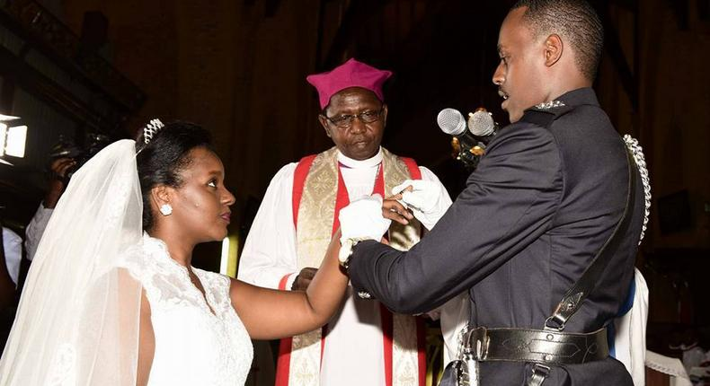 Museveni's daughter gets married