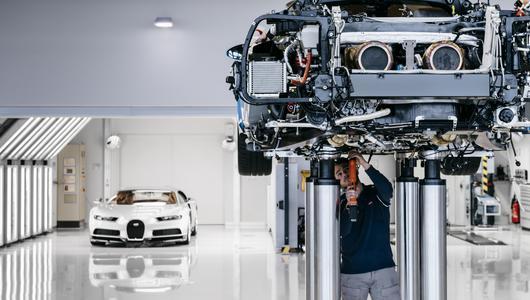 Świątynia Chirona - jak powstaje nowe Bugatti? | Galeria zdjęć