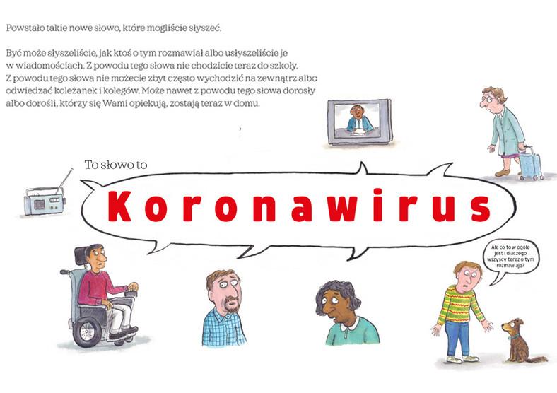 """""""Koronawirus. Książka dla dzieci"""""""