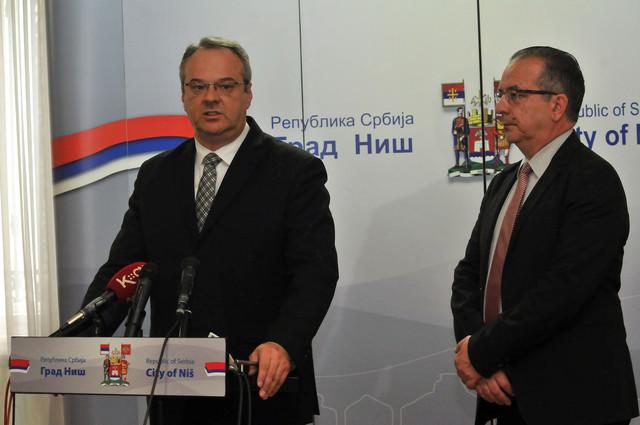 Željko Sertićsa gradonačelnikom Niša