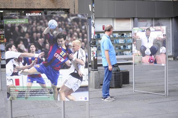 Fotografija Dragana Škrbića dok je nastupao za Barselonu