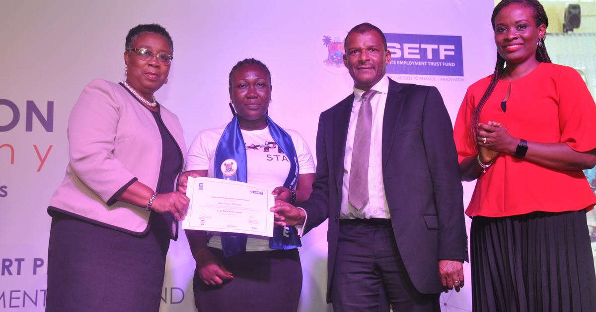 LSETF, UNDP hold graduation ceremony for 1,300 vocation-trained youth under the Employability Support Project - Pulse Nigeria