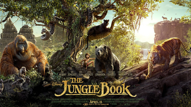 "Poster pentru ""The Jungle Book"" (2016)"