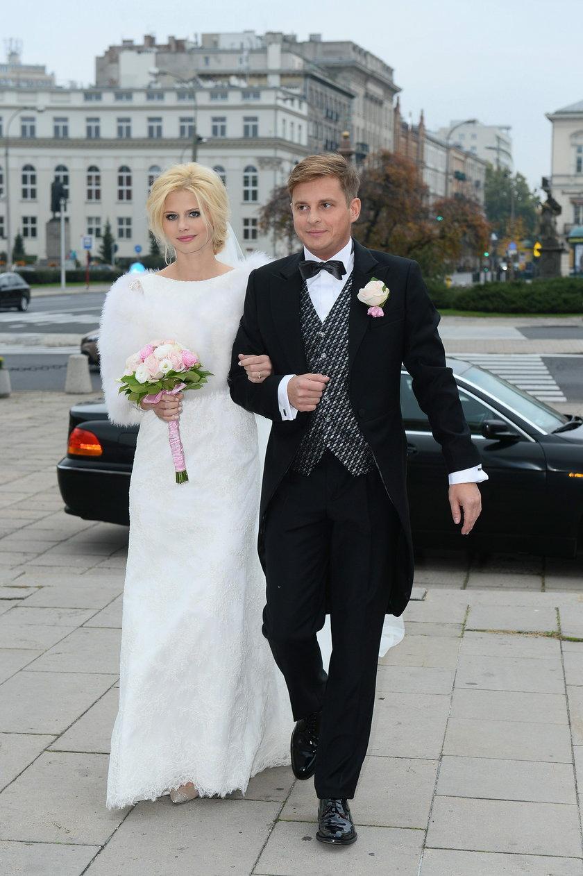 Iza Zwierzyńska i Stanisław Glinkiewicz