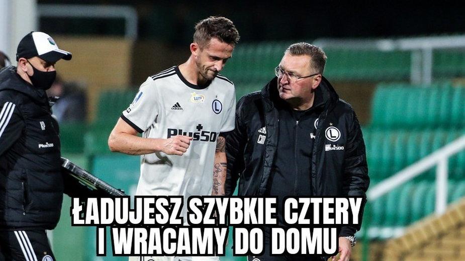 Legia rozbiła Zagłębie! Memy po meczu, w którym Tomas Pekhart stał się bohaterem