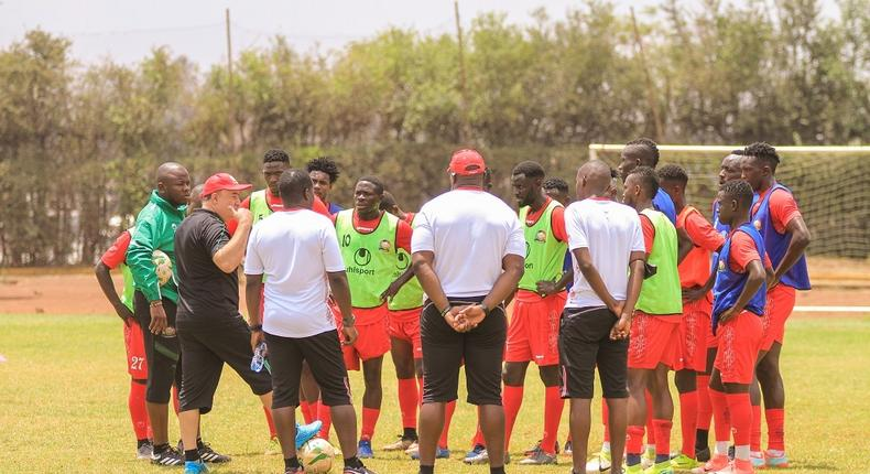 Local-based players checked into Harambee Stars camp today, September 30 at Utalii Sports Grounds.