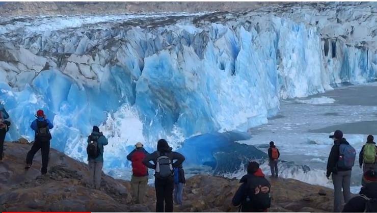 Patagonija led