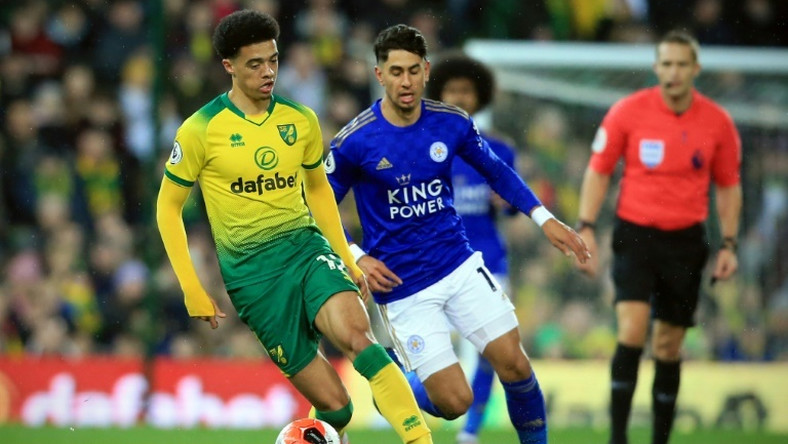 Norwich defender Jamal Lewis scored their winner against Leicester