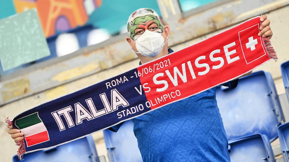 Kibic reprezentacji Włoch