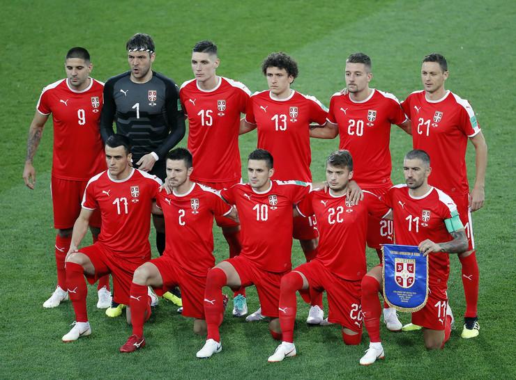 Fudbalska reprezentacija Srbije, Fudbalska reprezentacija Brazila