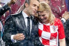 Emanuel Makron i Kolinda Grabar Kitarović ap