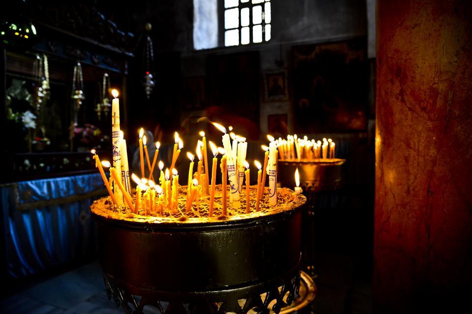Betlejem - miejsce urodzenia Jezusa, położone zaledwie kilka kilometrów od Jerozolimy na palestyńskich terytoriach.