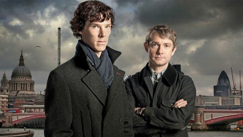 """Serial """"Sherlock"""" udowodnił, że choć znajomość czytelników z Sherlockiem Holmesem trwa już od 1887 roku, to duet Holmes – Watson nie postarzał się ani na jotę."""