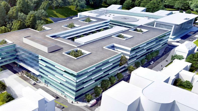 Nowy kompleks szpitalny ma być gotowy w 2020 roku