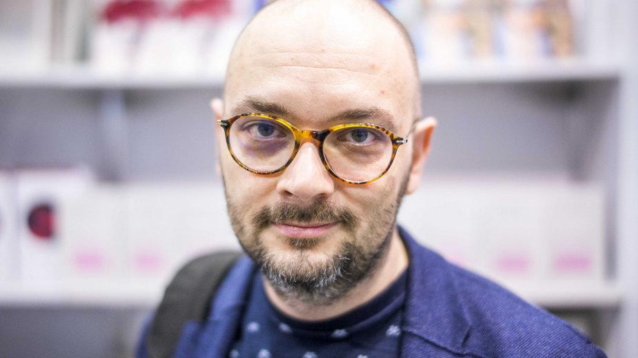 """Filip Springer, jeden z pierwszych gości akcji """"Oblicza katastrofy"""""""