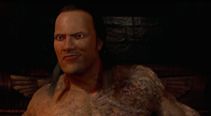 These YouTubers Just Fixed The Rock's Awful CGI Face in The Mummy Returns