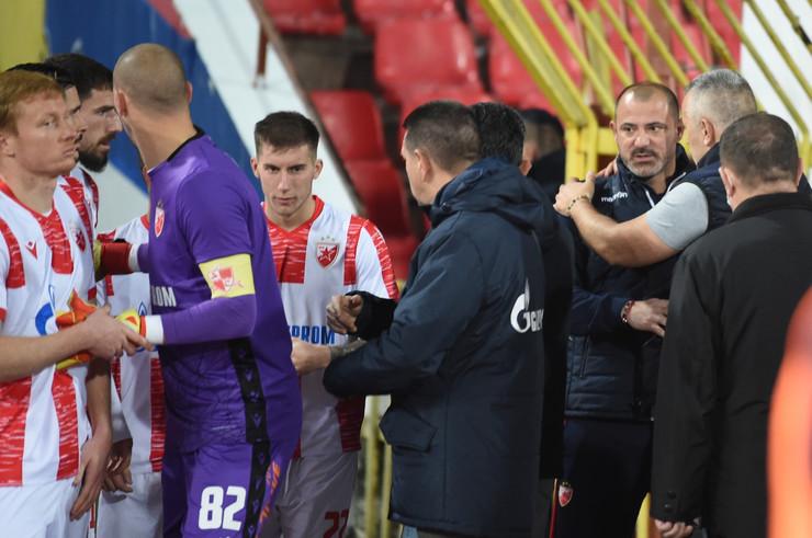 Delije na meču FK Crvena zvezda - Zlatibor