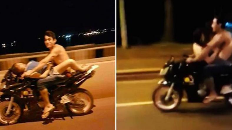 Секс с мотоциклом