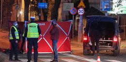 Tragedia w Warszawie! Motocyklista wjechał w pieszego