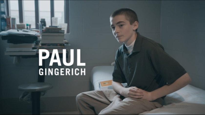 12 -letni Paul Gingerich zabił człowieka