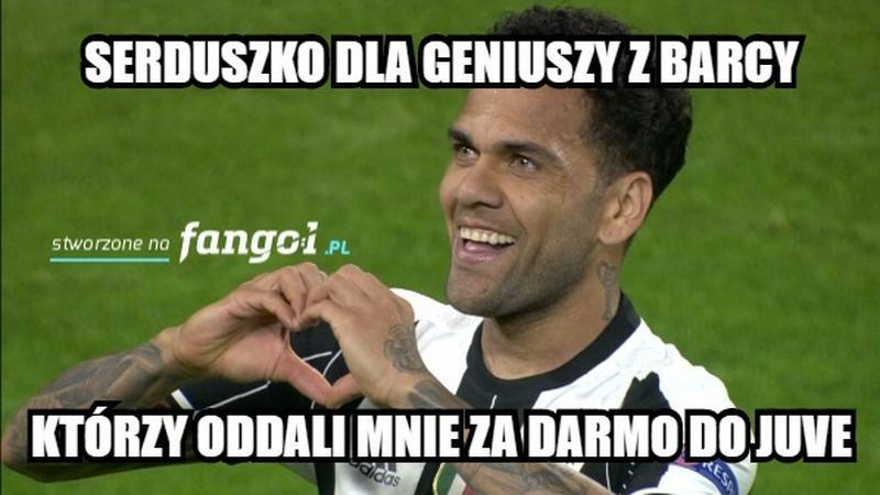Memy po meczu Juventus Turyn - AS Monaco