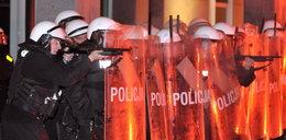 Policja użyła broni po pikiecie górników. Miasto zdemolowane