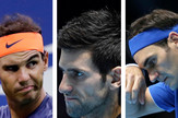 Rafael Nadal, Rodžer Federer, Novak Đoković