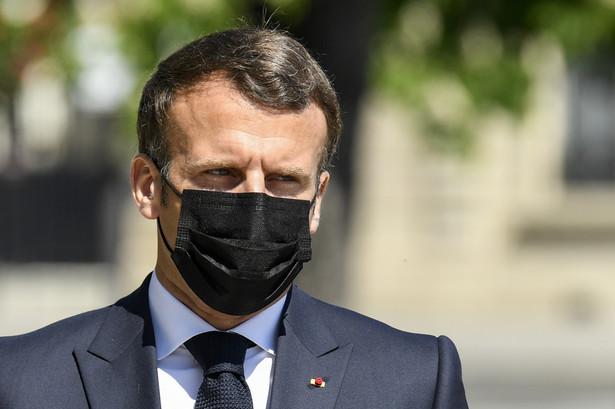 """Macron wyraził także """"poważne zaniepokojenie stanem zdrowia (Aleksieja) Nawalnego"""""""