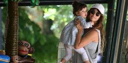 Penelope Cruz z dziećmi w Rzymie