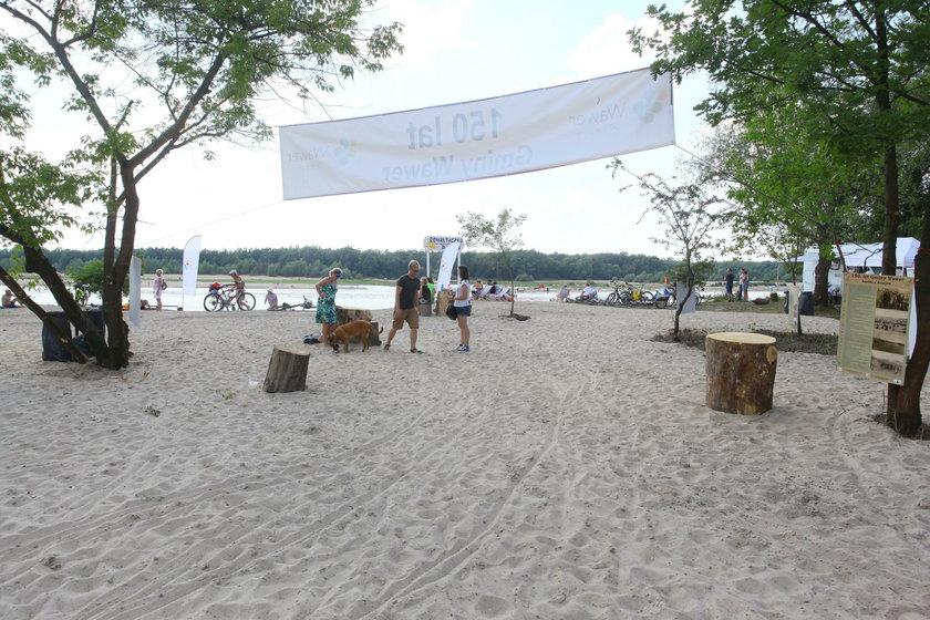 Warszawskie plaże - Wawer