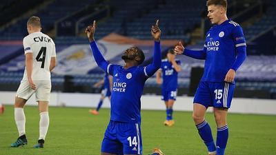 Kelechi Iheanacho had a brilliant Europa League night for Leicester City