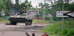 Ukraina zmienia format operacji w Donbasie. Poroszenko: Rozpoczynamy operację wojskową