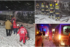 leskovac kombo nesreća sleteo autobus sa putnicima iz makedonije