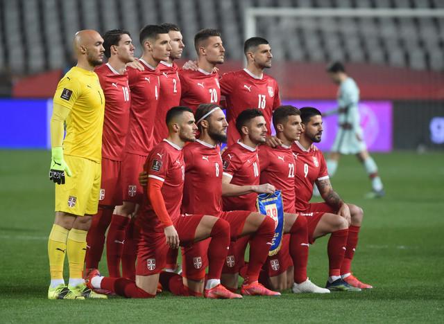 Detalji sa utakmice Srbija - Portugal