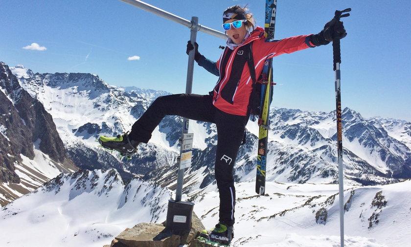 Anna Tybor skialpinistka