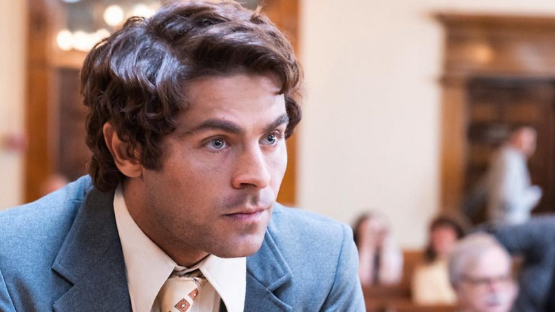 Zac Efron, mint a hírhedt Ted Bundy.