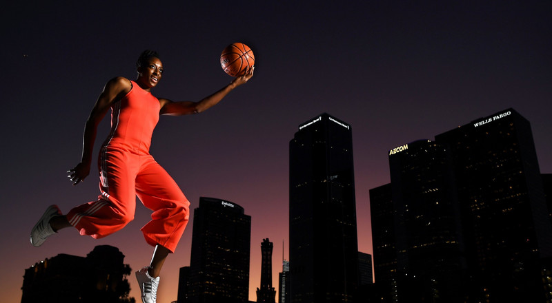 Meet Nneka Ogwumike, a renowned Nigerian-American pro basketball player - and President of the Women's National Basketball Association
