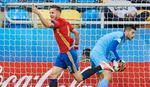 """""""FURIJA"""" JE SILNA Španija dala pet lakih komada Makedoniji"""