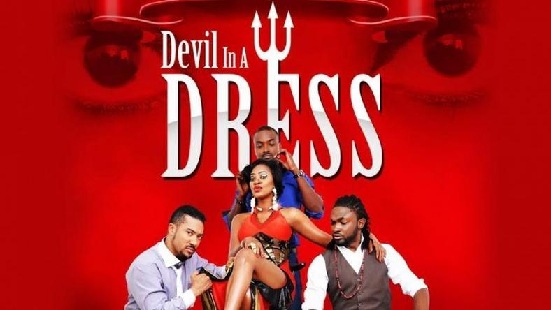 Devil in a dress poster